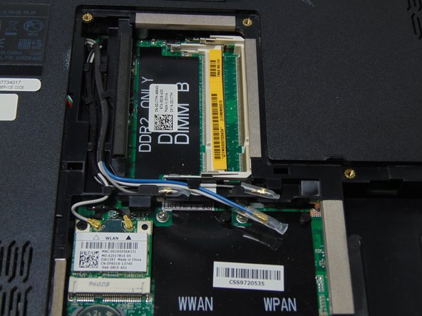 Dell Studio 1555 RAM Replacement