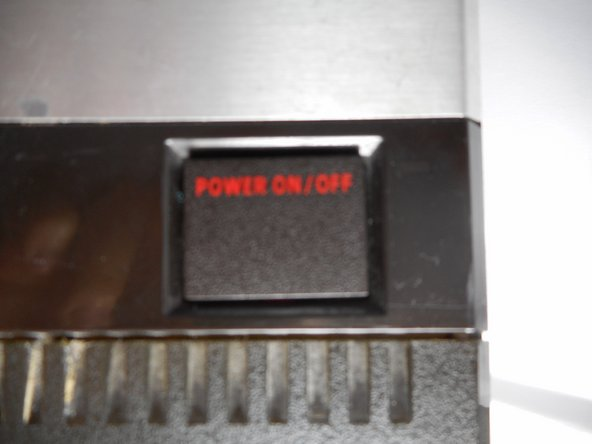 Atari 5200 Entertainment System Power Button Replacement