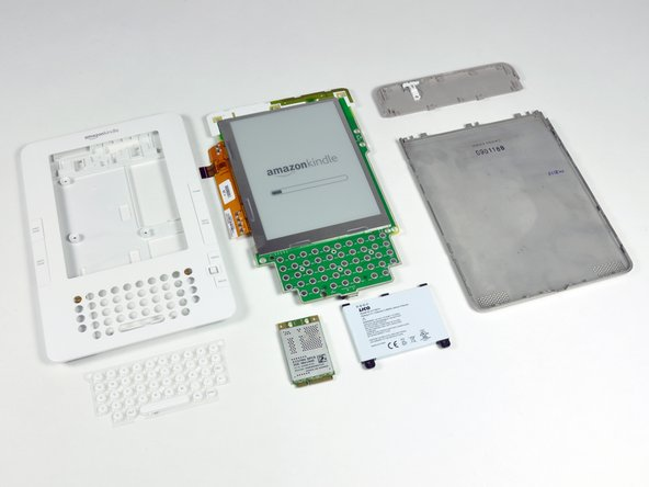 Full Kindle 2 teardown