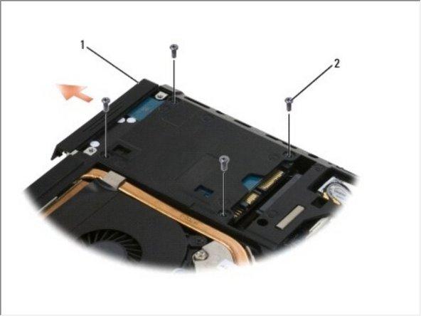 Dell Precision M4400 Hard Drive Replacement