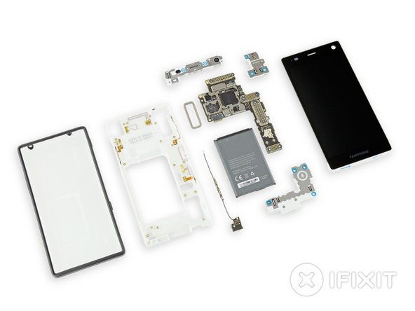 Fairphone 2 Repairability Score: 10 out of 10 (10 is easiest to repair)