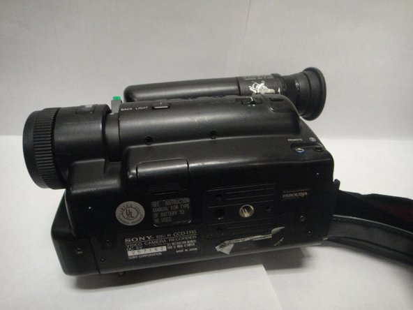 Sony Handycam CCD-TR5 Tape Transport Unit Replacement