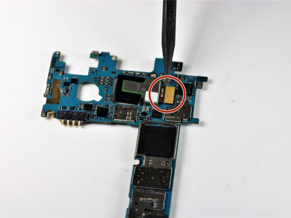 The rear facing camera will be attached to the motherboard.