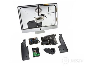"iMac Intel 27"" EMC 2639 Teardown"
