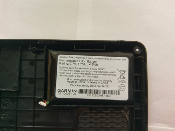 Garmin nuvi 2460 LMT Battery Replacement