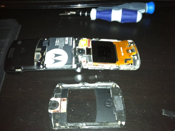 After securing the face-screen into the casing, place the face screen cover back on.