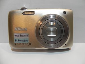 Nikon Coolpix S3100 Camera Repair