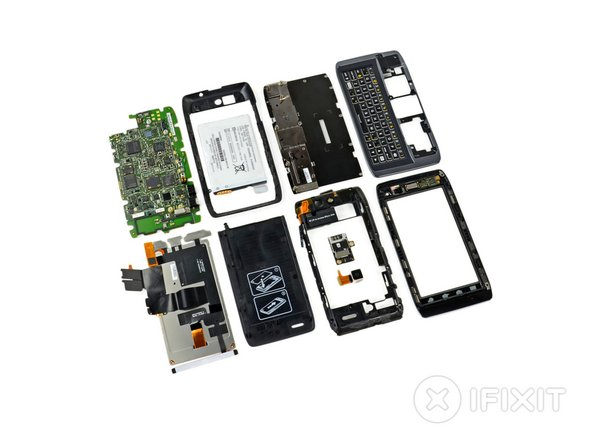 Motorola Droid 4 teardown