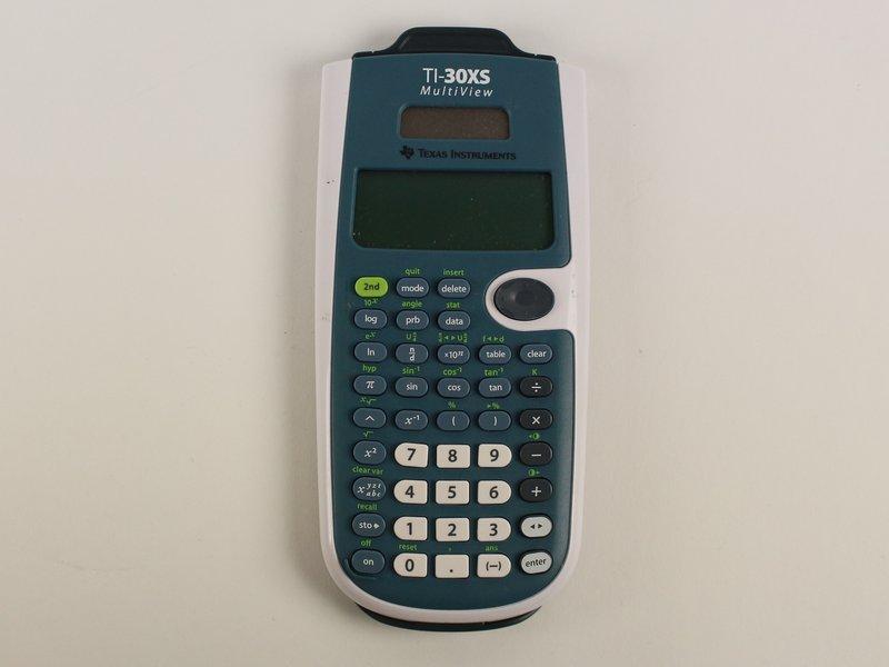 Texas Instruments Ti 30 Xs Multiview Repair Manual Guide