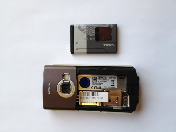 Nokia N70 Battery Replacement