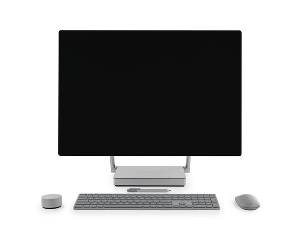 28-inch adjustable PixelSense Display with 4500 x 3000 resolution (192 DPI)—supporting sRGB, DCI-P3, and Vivid color profiles, plus 10-point multi-touch