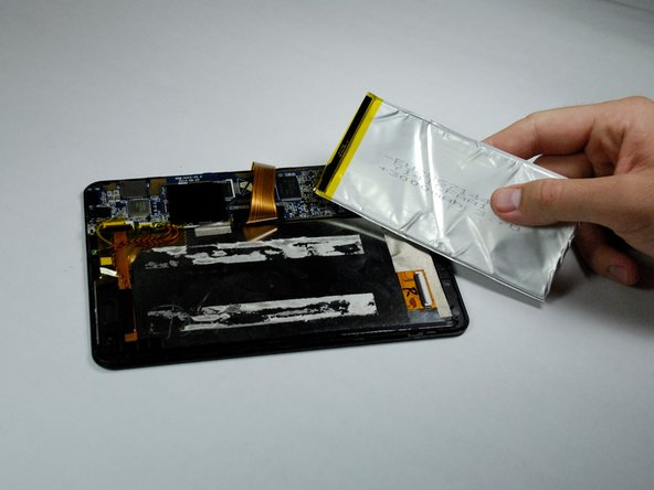 Do not bend the lithium-ion battery. This can cause a fire.